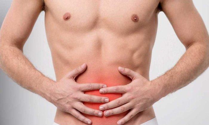 Побочным действием от приема препарата может быть болезненное чувство в эпигастральной области