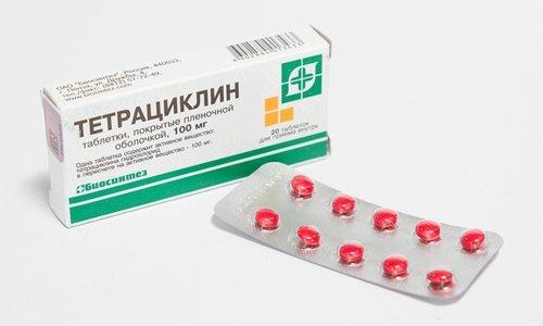 Одновременный прием прополиса Тенториум с тетрациклином и стрептомицином усиливает их действие