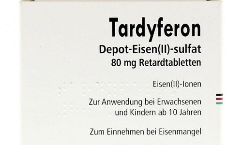 Тардиферон в основном предназначен для восполнения количества железа в организма