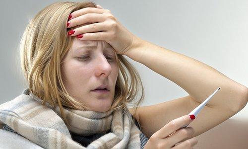 Побочным действие препарата может быть повышение температуры тела
