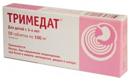 Тримедат 100 - лекарственное средство, используемое для восстановления функций пищеварительной системы