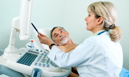 Для уточнения поставленного диагноза и получения полной информации о заболевании (локализация, размер и тип опухоли), проводятся УЗИ простаты