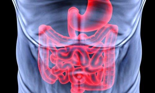 Раствор попадает в кишечник и начинает действовать спустя 5-7 минут