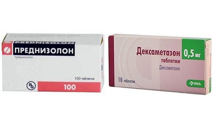Преднизолон или дексаметазон