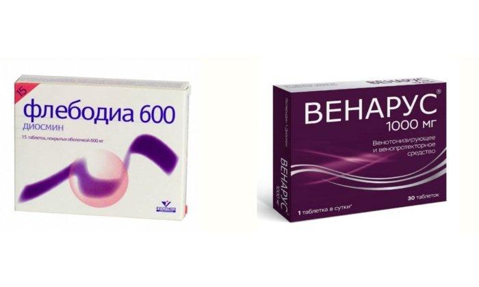 Флебодиа и Венарус: сравнительный анализ таблеток