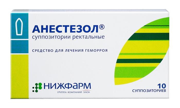 Мазь Анестезол — средство для борьбы с геморроем