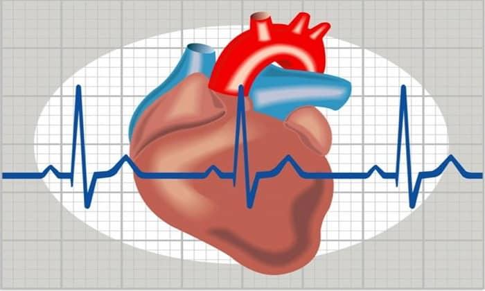 От препарата может возникнуть такое побочное проявление как нарушение сердечного ритма