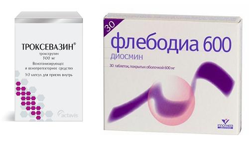 Оба лекарственных средства относятся к венотоникам и ангиопротекторам