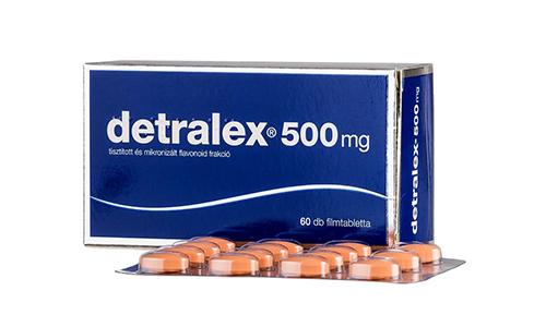Венотонизирующее средство Детралекс не разрешается принимать при непереносимости фруктозы