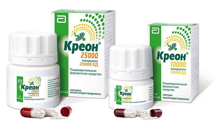 Креон - ферментное средство для нормализации пищеварения