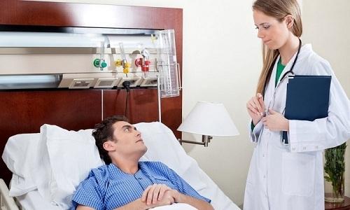 Пребывание больного в стационаре занимает от 7 до 10 дней