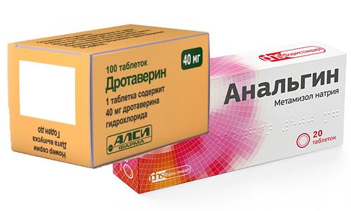 Анальгин и Дротаверин - лекарственные препараты, которые можно совмещать для устранения выраженного болевого синдрома