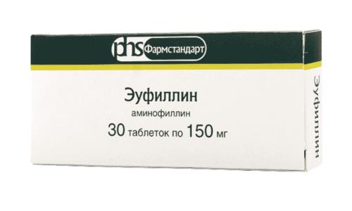Эуфиллин действует на организм человека как сильный спазмолитик