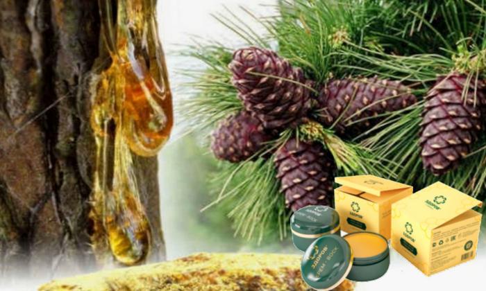 Кедровая живица, входящая в состав крема Здоров, обладает хорошим ранозаживляющим эффектом, препятствует образованию тромбов