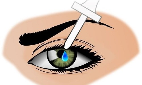 Лидокаин предназначен для закапывания в конъюнктивальный мешок органа зрения
