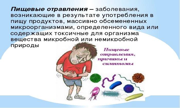 Бифидобактерин назначают при бактериальных пищевых отравлениях