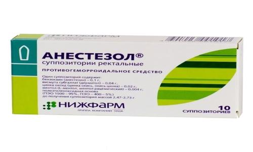 Анестезол - это комплексный препарат местного действия, используемый для лечения геморроя
