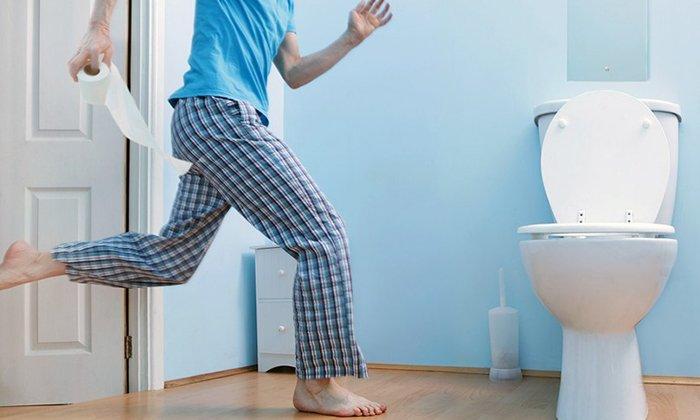 В случае гиперчувствительности к активным веществам может развиться диарея