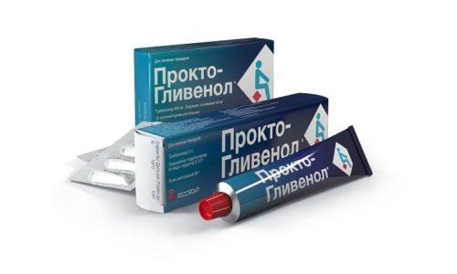 Прокто-Гливенол относится к комбинированным препаратам, оказывающим анестезирующее, противовоспалительное и венотонизирующее действия