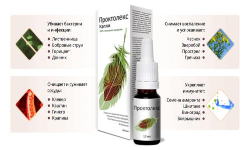 Для быстрого лечения геморроя необходимо использовать фармацевтический препарат Проктолекс