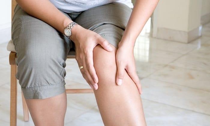 Мазь показана к применению при болезненном чувстве в венах