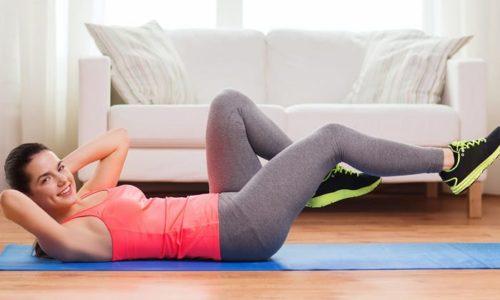 При 1 стадии геморроя нужно выполнять физические упражнения для тонуса мышечной ткани