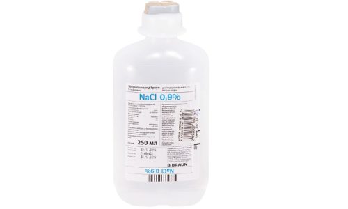 Раствор хлористого натрия 0,9% является изотоничным для организма