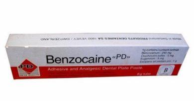 Мазь Бензокаин — средство для борьбы с геморроем
