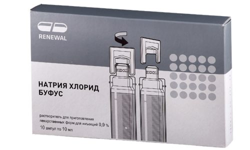 Натрия хлорид Буфус – аналог Натрия Хлорида 0,9%