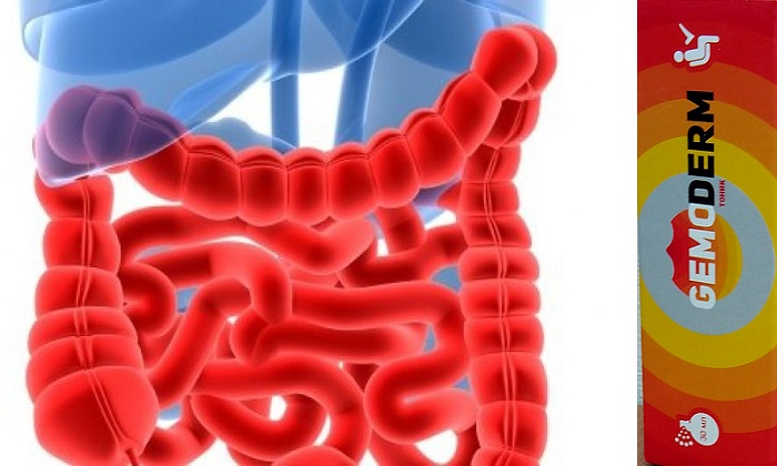Показание к применению Gemoderm - болезнь Крона