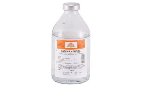 Хлорид натрия может восполнять недостаток воды в организме