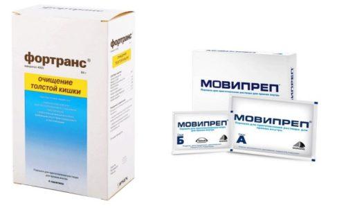 В состав обоих медикаментозных средств входит макрогол