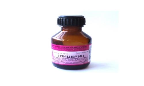 Глицерин - вещество, которое используют в форме раствора для наружного применения и ректальных суппозиториев
