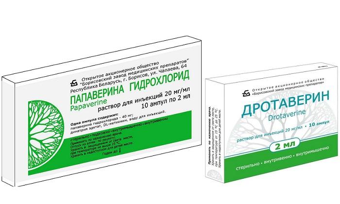 Сравнение Папаверина и Дротаверина