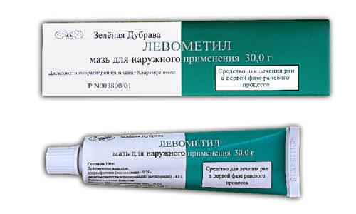 Левометил назначают для лечения раневых поверхностей, которые подверглись вторичному инфицированию