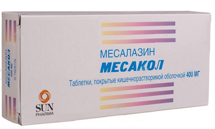 Мексакол - это противовоспалительное и противомикробное кишечное средство. Его основной компонент - месалазин