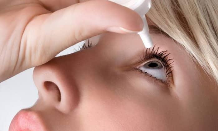 Следует капать в глаза раствор при химических ожогах, конъюнктивите, астигматизме и т. д