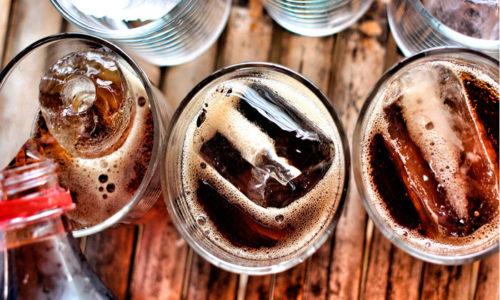 Необходимо отказаться от газированных напитков